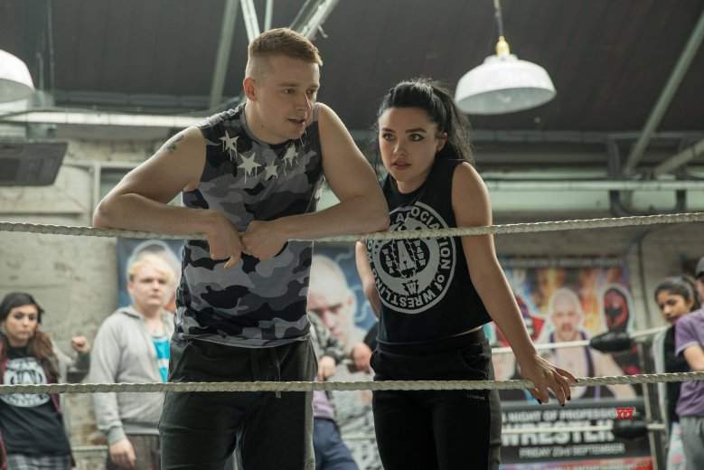 �fighting with my family� review florence pugh tries