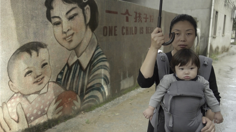 "Filmmaker Nanfu Wang appearing ""One Child Policy"" which was secret shot in China"