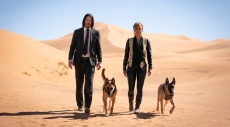"Keanu Reeves and Halle Berry in ""John Wick Chapter 3: Parabellum"""