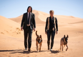 """Keanu Reeves and Halle Berry in """"John Wick Chapter 3: Parabellum"""""""