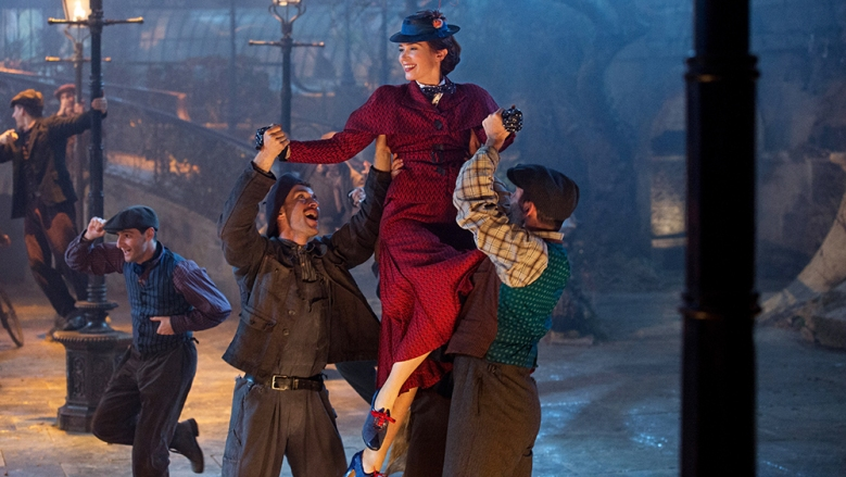 Emily Blunt is Mary Poppins in Dinsey's original musica MARY. POPPINS RETURNS, a sequel to the 1964 MARY POPPINS which takes audiences on an entirely new adventure with the practically perfect nanny and the Banks family.