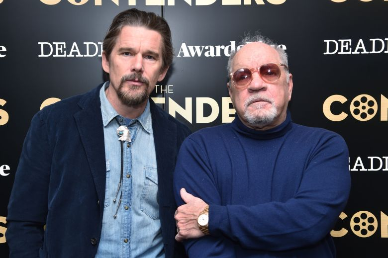 Ethan Hawke and Paul SchraderA24 'First Reformed' film presentation, Arrivals, The Contenders New York presented by Deadline, USA - 01 Dec 2018