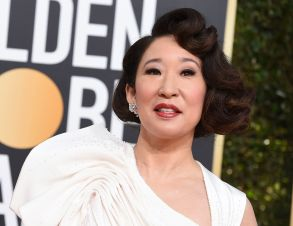 Sandra Oh arrives at the 76th annual Golden Globe Awards at the Beverly Hilton Hotel, in Beverly Hills, Calif76th Annual Golden Globe Awards - Arrivals, Beverly Hills, USA - 06 Jan 2019
