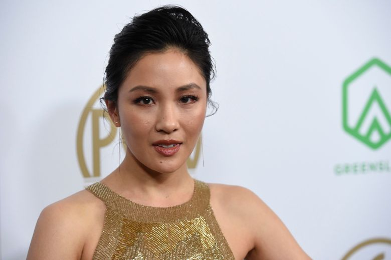 Constance Wu arrives at the Producers