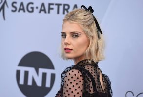 Lucy Boynton arrives at the 25th annual Screen Actors Guild Awards at the Shrine Auditorium & Expo Hall, in Los Angeles25th Annual SAG Awards - Arrivals, Los Angeles, USA - 27 Jan 2019