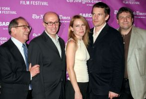 Sidney Lumet, Mark Urman, Amy Ryan, Ethan Hawke, Richard Pena'Before the Devil Knows You're Dead' film screening at the 45th New York Film Festival, New York, America - 12 Oct 2007