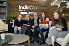 Zoe Kazan, Carey Mulligan, Paul Dano, Ed Oxenbould, Zoe Colletti, IndieWire Dropbox,IndieWire Studio presented by Dropbox, Day 2, Sundance Film Festival, Park City, USA - 20 Jan 2018