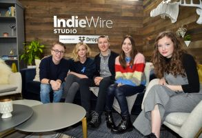 Zoe Kazan, Carey Mulligan, Paul Dano, Ed Oxenbould, Zoe Colletti, IndieWire Dropbox,IndieWire Studio presented by Dropbox, Day 2, Sundance Film Festival, Park City, USA - 20 Jan 2018
