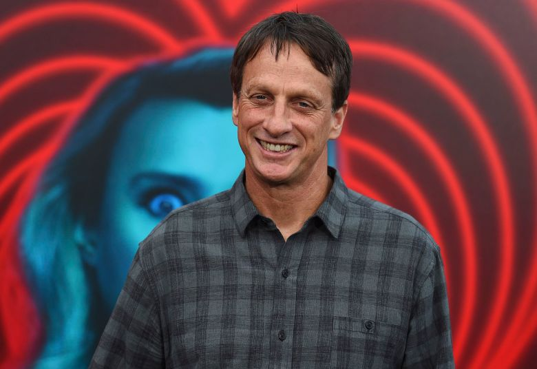 "Tony Hawk arrives at the world premiere of ""The Spy Who Dumped Me"" on in Los AngelesWorld Premiere of ""The Spy Who Dumped Me"", Los Angeles, USA - 25 Jul 2018"