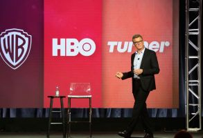 Chief Creative Officer of Turner Entertainment Kevin Reilly speaks during the TBS/TNT executive session at the Television Critics Association Winter Press Tour at The Langham Huntington, in Pasadena, Calif2019 Winter TCA - Turner, Pasadena, USA - 11 Feb 2019