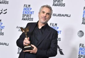 Alfonso Cuaron - Best International Film - 'Roma' (Mexico)34th Film Independent Spirit Awards, Press Room, Los Angeles, USA - 23 Feb 2019