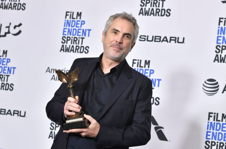 Alfonso Cuaron - Best International Film - 'Roma' (Mexico)34th Film Independent Spirit Awards, Press Room, Los Angeles, USA - 23 Feb 2019