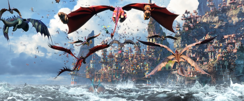In DreamWorks Animation's How To Train Your Dragon: The Hidden World, directed by Dean DeBlois, the Viking village of Berk has become a chaotic dragon utopia.