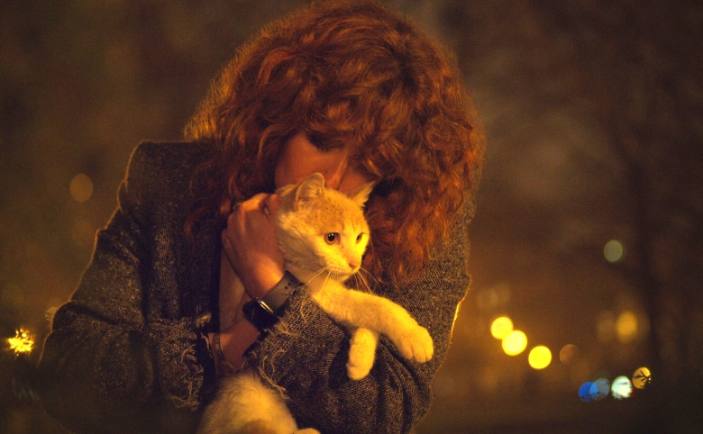 "Natasha Lyonne and Oatmeal, ""Russian Doll"""
