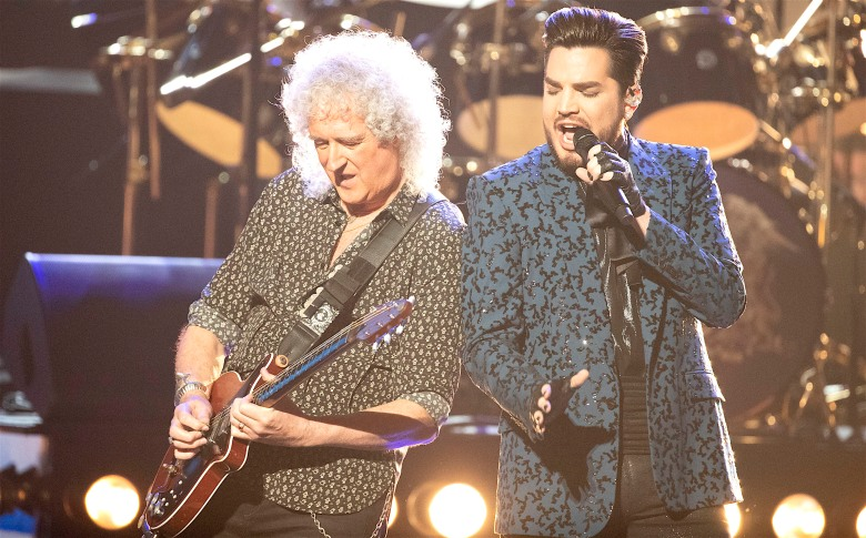 Queen's Brian May and Adam Lambert, 91st Oscars