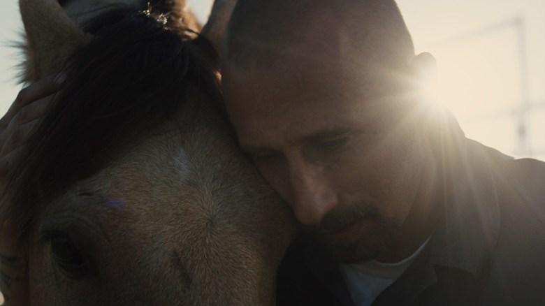 Matthias Schoenaerts stars as Roman in Laure de Clermont-Tonnerre's THE MUSTANG, a Focus Features release. Credit : Focus Features