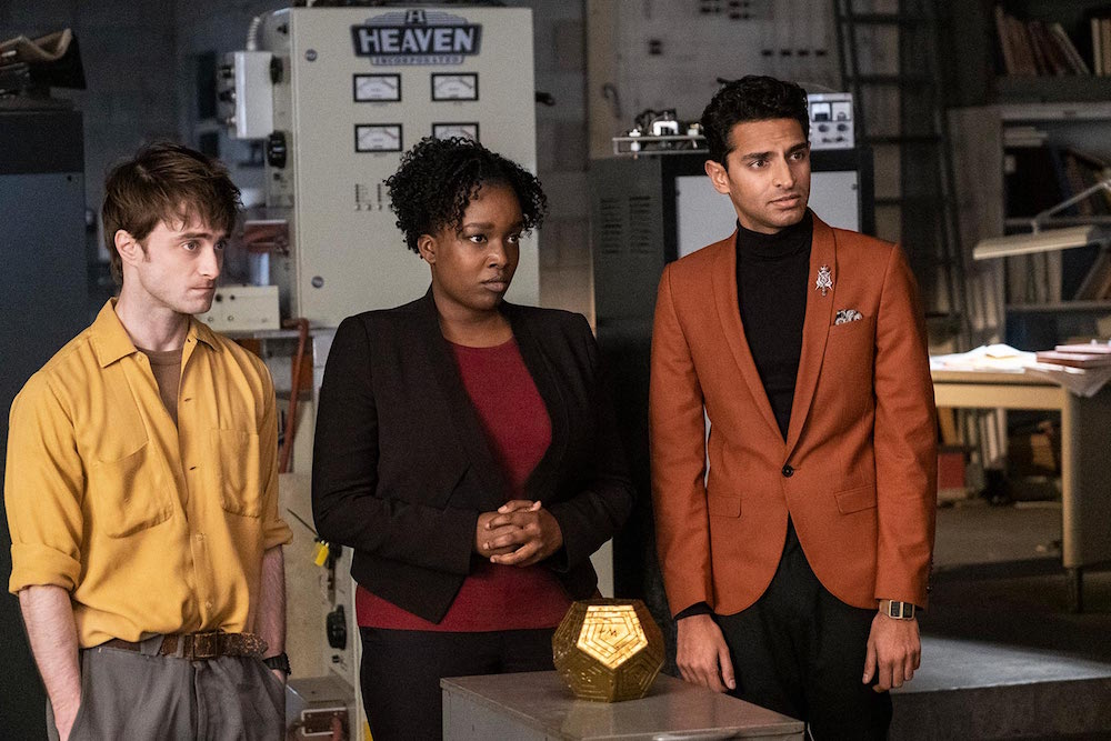 Miracle Workers TBS Daniel Radcliffe, Lolly Adefope, Karan Soni