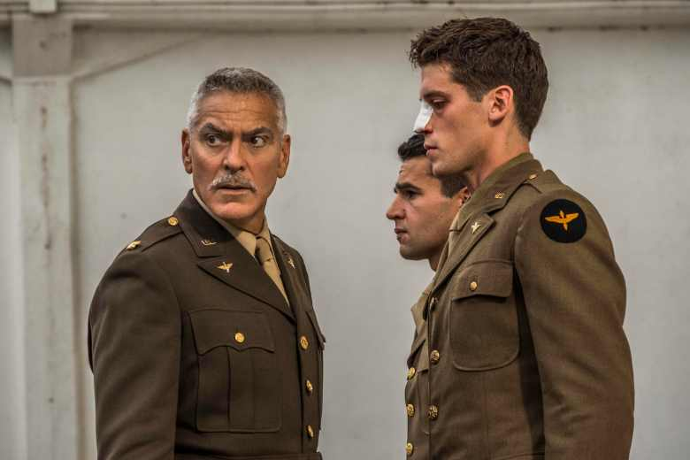 "George Clooney, Christopher Abbott, Pico Alexander, ""Catch-22"""