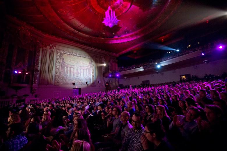 The Castro Theatre in San Francisco during the San Francisco International Film Festival