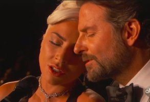 Lady Gaga and Bradley Cooper