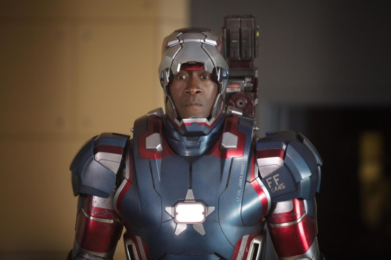 Editorial use only. No book cover usage.Mandatory Credit: Photo by Marvel/Paramount/Kobal/REX/Shutterstock (5885986ax)Don CheadleIron Man 3 - 2013Director: Shane BlackMarvel/ParamountUSAScene Still