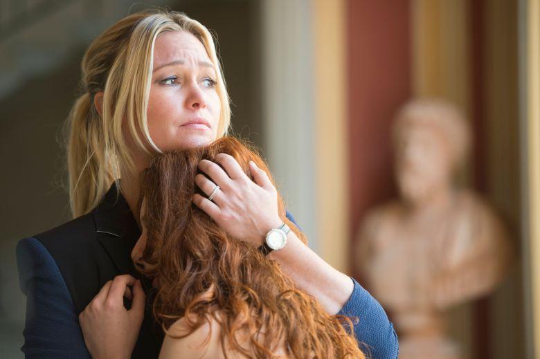 Julia Stiles Plays A Female Michael Corleone On Riviera