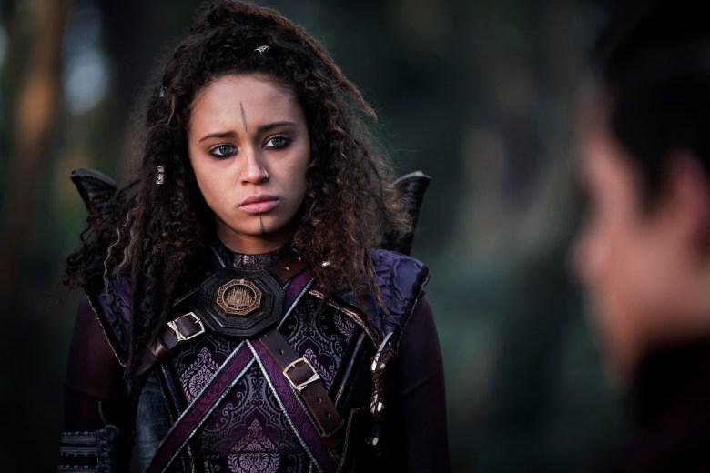 Ella-Rae Smith as Nix - Into the Badlands _ Season 3, Episode 10 - Photo Credit: Aidan Monaghan/AMC