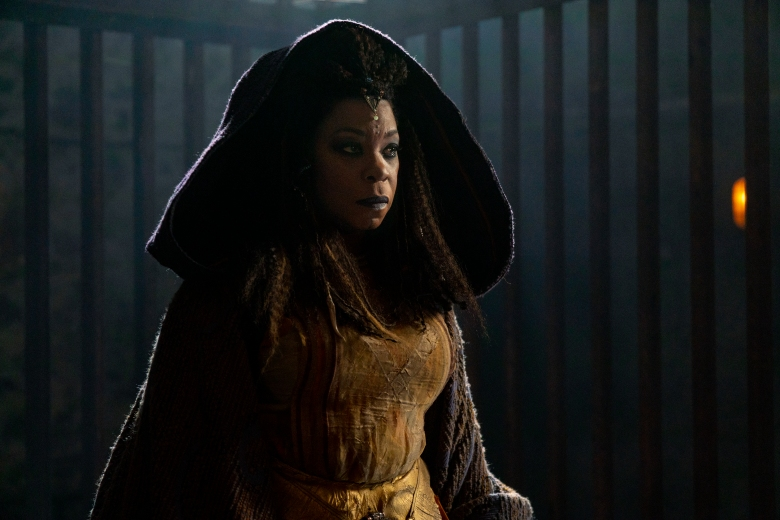 Lorraine Toussaint as Cressida - Into the Badlands _ Season 3, Episode 14 - Photo Credit: Aidan Monaghan/AMC