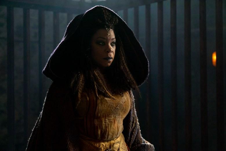 Lorraine Toussaint as Cressida- Into the Badlands _ Season 3, Episode 14 - Photo Credit: Aidan Monaghan/AMC