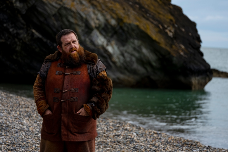 Nick Frost as Bajie - Into the Badlands _ Season 3, Episode 14 - Photo Credit: Aidan Monaghan/AMC
