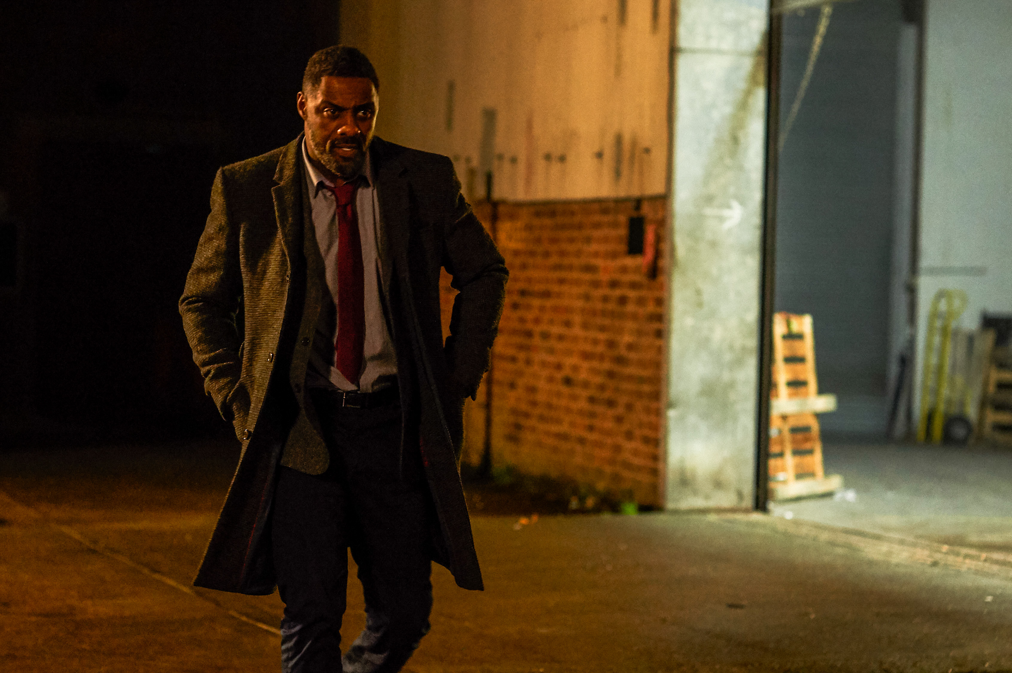 Idris Elba as DCI John Luther - Luther _ Season 5, Episode 3 - Photo Credit: Des Willie/BBCAmerica