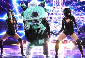 "THE MASKED SINGER: Monster in the ""Touchy Feely Clues"" episode of THE MASKED SINGER airing Wednesday, Feb. 6 (9:00-10:00 PM ET/PT) on FOX. © 2019 FOX Broadcasting. CR: Michael Becker / FOX."