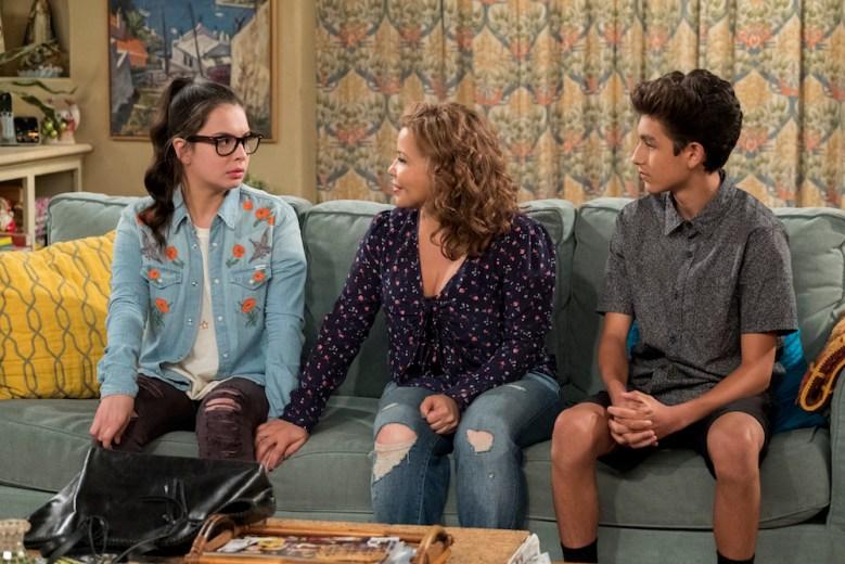 One Day at a Time Season 3 Isabella Gomez, Justina Machado, and Marcel Ruiz