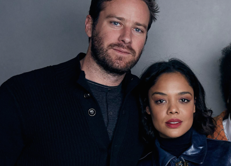 Armie Hammer and Tessa Thompson