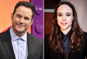 Chris Pratt and Ellen Page