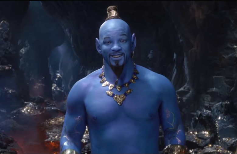 Aladdin footage at cinemacon can t win over blue will - Singe aladdin ...