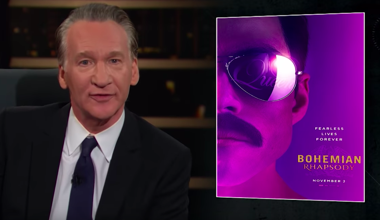 Bill Maher Says the Oscars Are Being Ruined by 'Ridiculous Purity Tests'