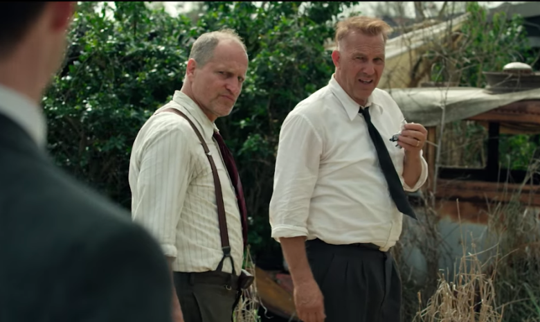 Woody Harrelson and Kevin Costner