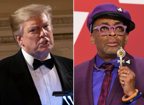 Donald Trump and Spike Lee