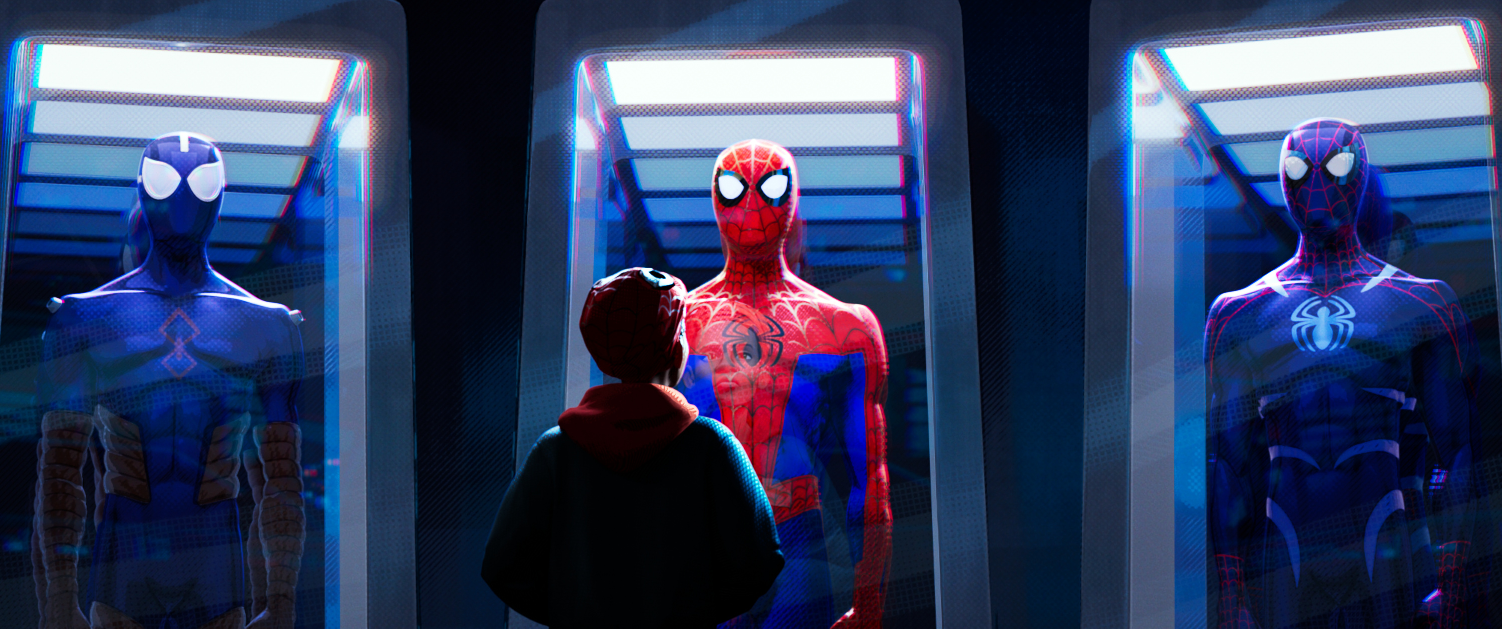 Miles Morales (Shameik Moore) in Sony Pictures Animation's SPIDER-MAN: INTO THE SPIDER-VERSE.
