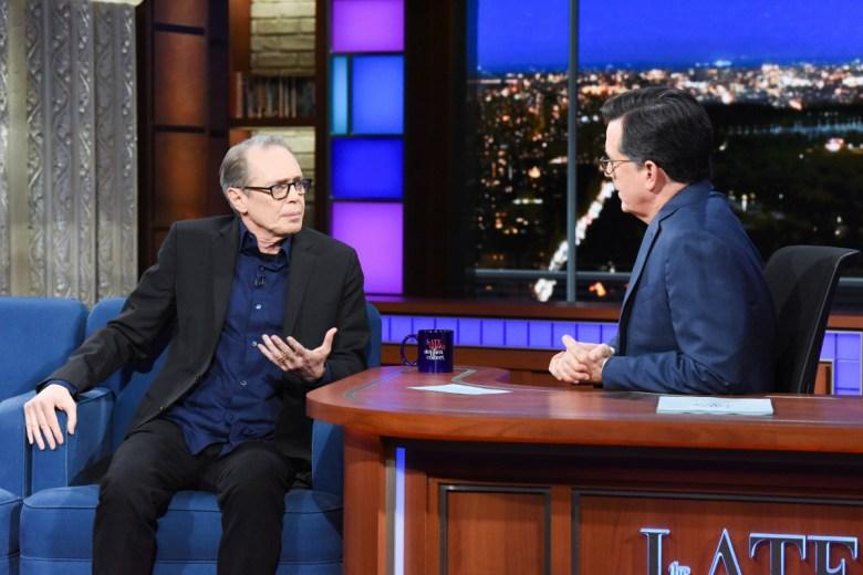 Steve Buscemi Stephen Colbert