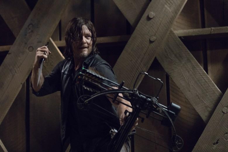 Norman Reedus as Daryl Dixon - The Walking Dead _ Season 9, Episode 9 - Photo Credit: Jackson Lee Davis/AMC