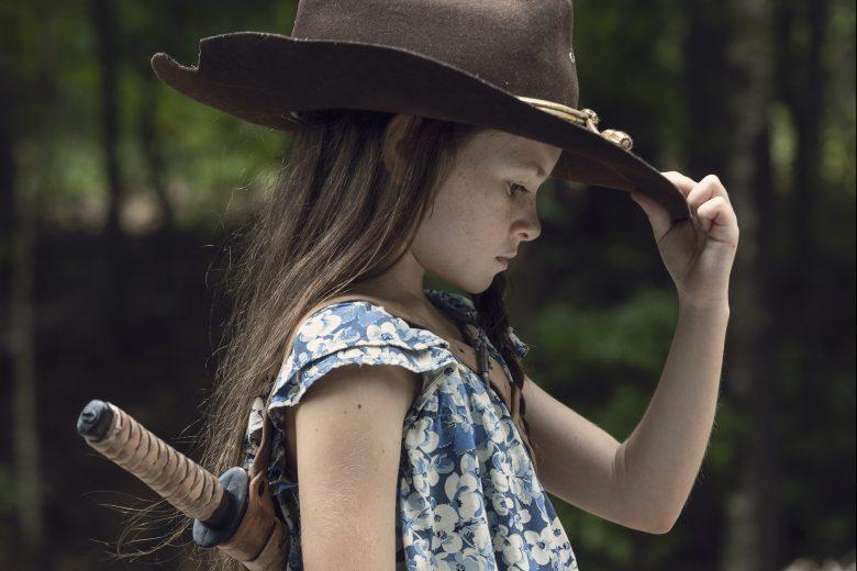 Cailey Fleming as Judith - The Walking Dead _ Season 9, Episode 9 - Photo Credit: Jackson Lee Davis/AMC