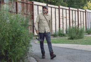 Jeffrey Dean Morgan as Negan - The Walking Dead _ Season 9, Episode 9 - Photo Credit: Jackson Lee Davis/AMC