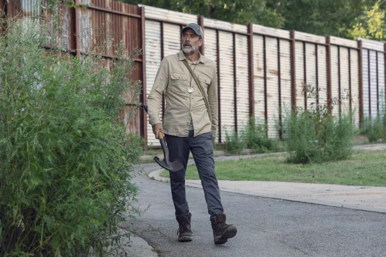 Jeffrey Dean Morgan as Negan - The Walking Dead _ Season 9, Episode 9 - Photo Credit: Jackson Lee Davis/AMC