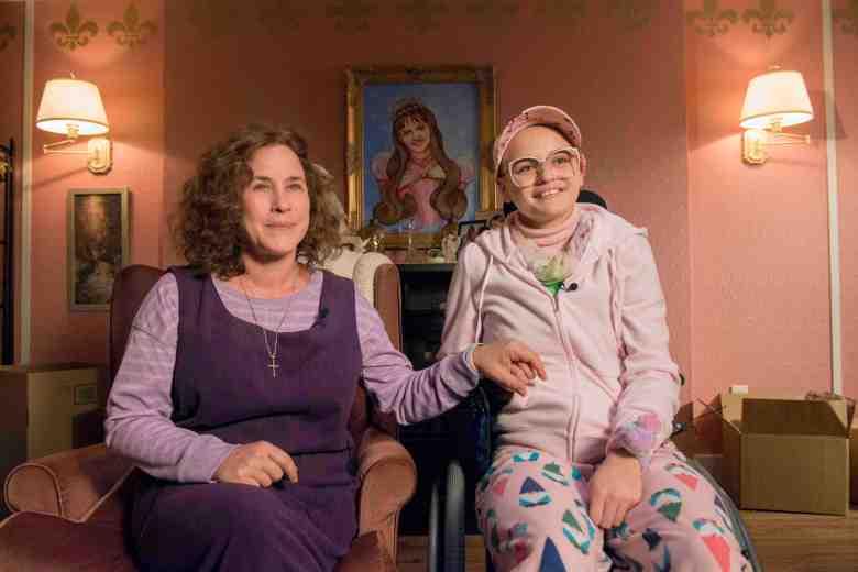 "The Act -- ""  "" --  Dee Dee Blanchard (Patricia Arquette), Gypsy Rose Blanchard (Joey King) shown. (Photo by: Brownie Harris / Hulu)"