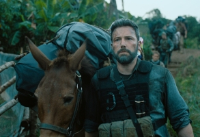 """TRIPLE FRONTIER (2019) - pictured Ben Affleck (""""Redfly"""")Photo Courtesy of Netflix"""