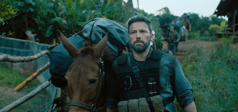 "TRIPLE FRONTIER (2019) - pictured Ben Affleck (""Redfly"")Photo Courtesy of Netflix"