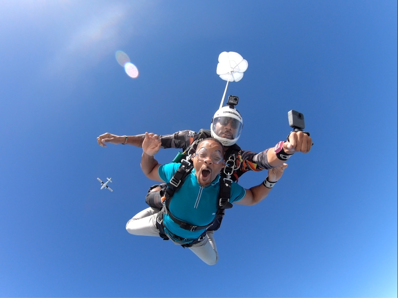 Will Smith Skydiving