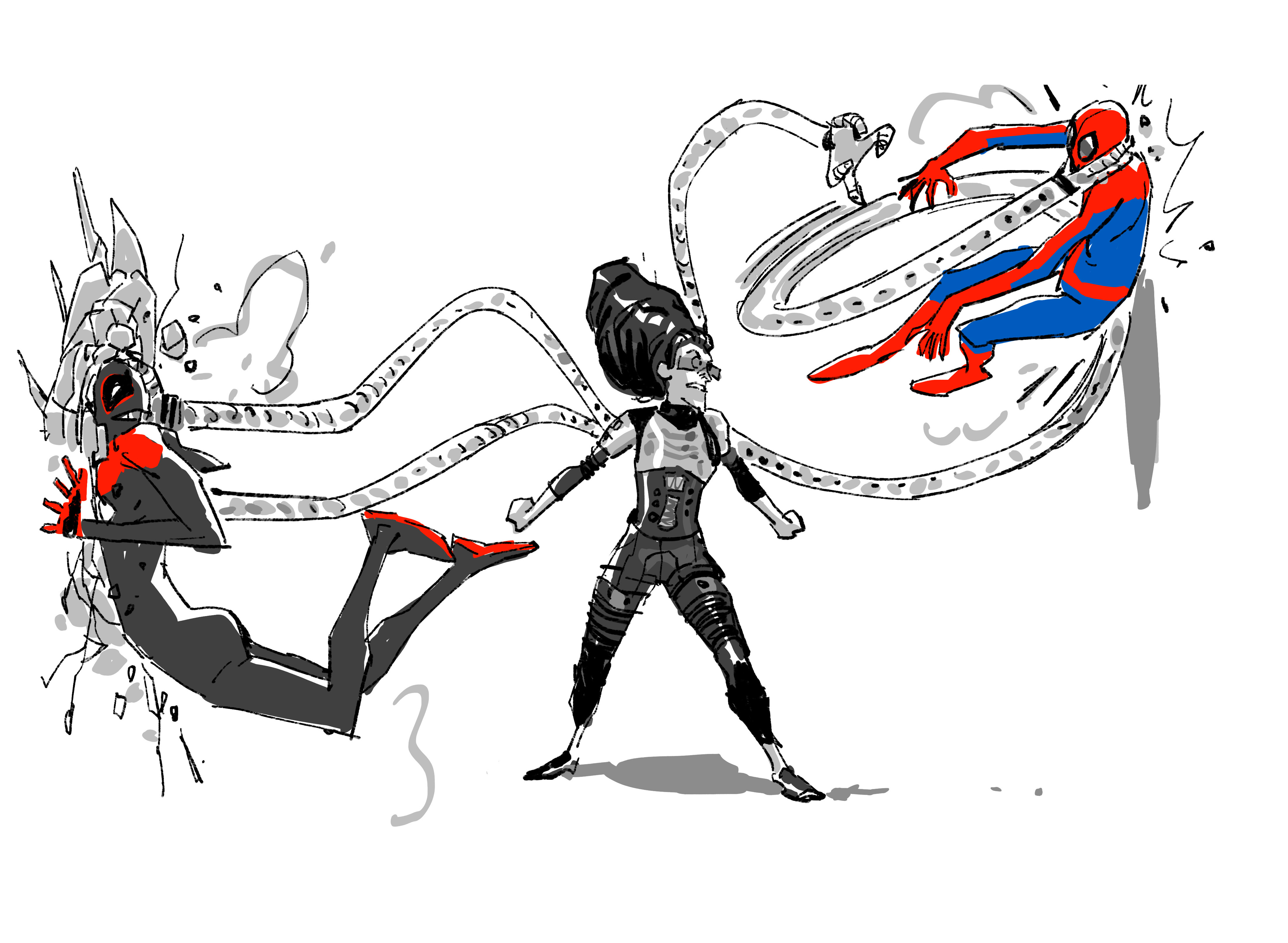Spider Man Into The Spider Verse Why Doc Ock Had To Be A Woman